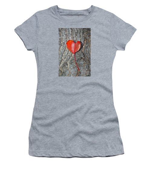 The Heart Of A Tree Women's T-Shirt (Athletic Fit)