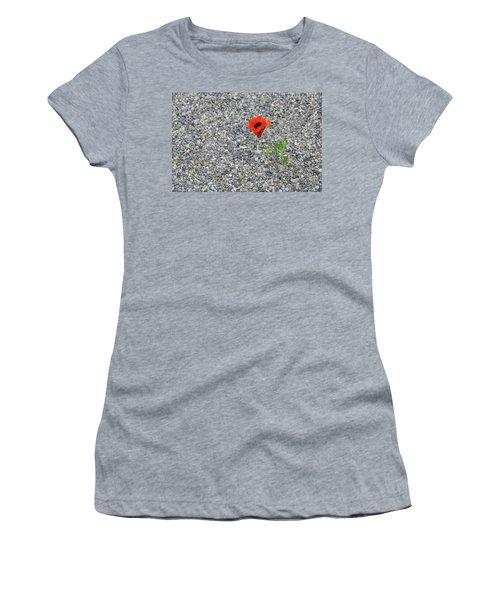The Hopeful Poppy Women's T-Shirt