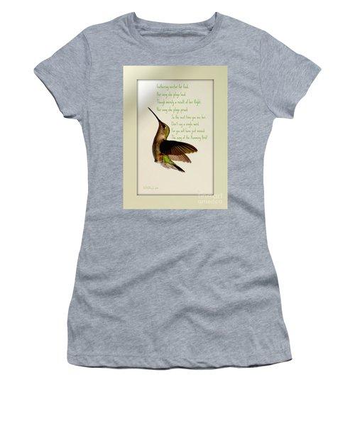 The Hummingbird Women's T-Shirt