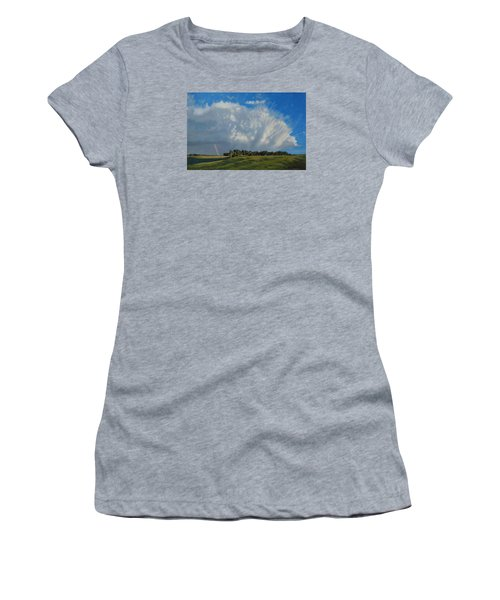 The June Rains Have Passed Women's T-Shirt (Athletic Fit)