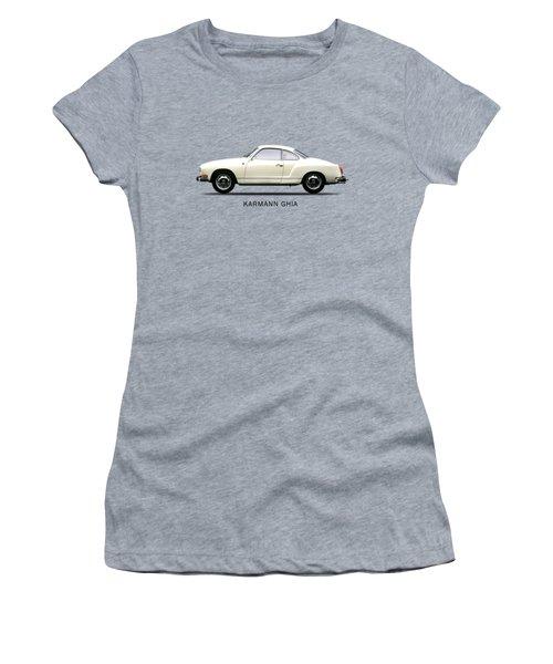 The Karmann Ghia Women's T-Shirt (Junior Cut) by Mark Rogan