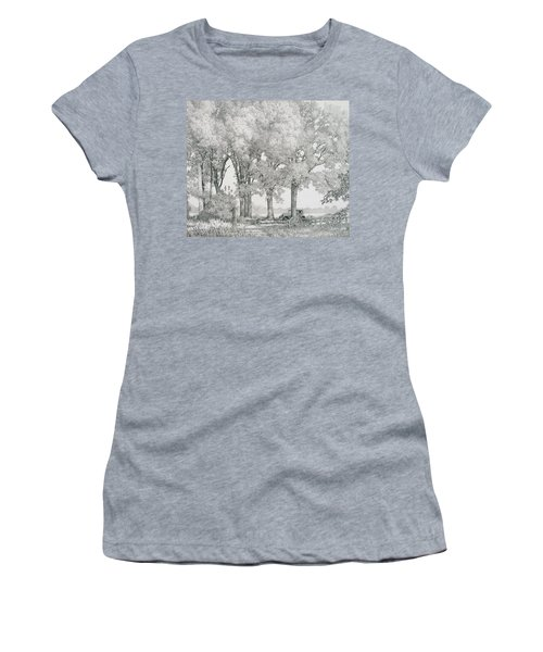 The Land Women's T-Shirt (Athletic Fit)