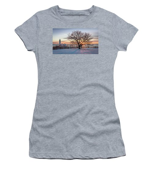 The Lighthouse And Tree Women's T-Shirt