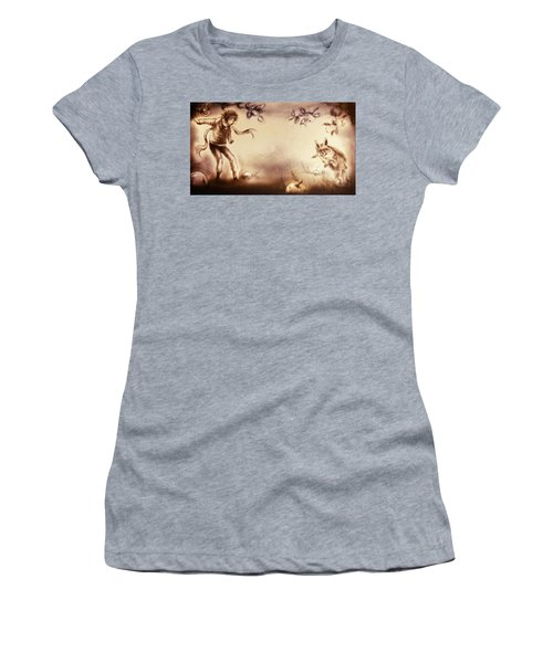 The Little Prince And The Fox Women's T-Shirt