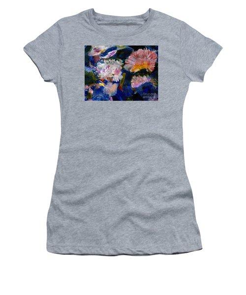 The Magic Of Flowers Women's T-Shirt (Junior Cut) by Nancy Kane Chapman
