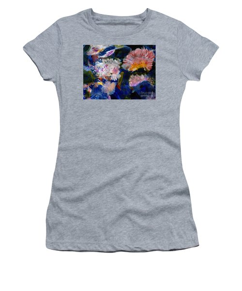 The Magic Of Flowers Women's T-Shirt (Athletic Fit)
