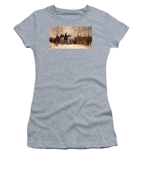The March To Valley Forge Women's T-Shirt (Athletic Fit)