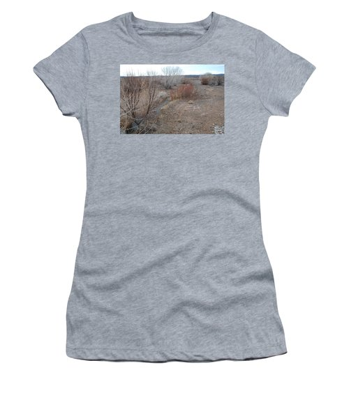 Women's T-Shirt (Junior Cut) featuring the photograph The Mighty Santa Fe River by Rob Hans