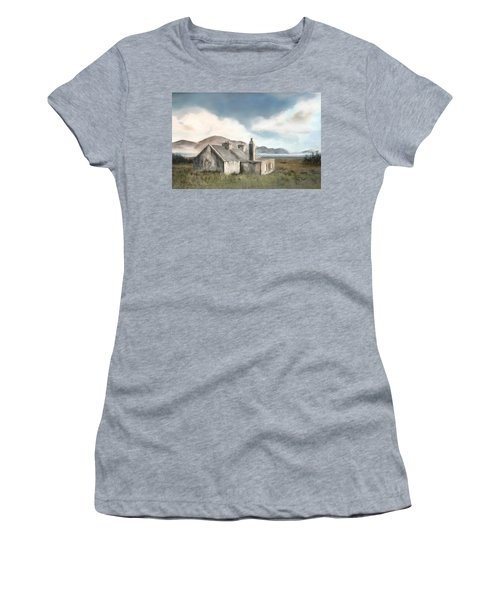 The Mist Of Moorland Women's T-Shirt (Junior Cut) by Colleen Taylor