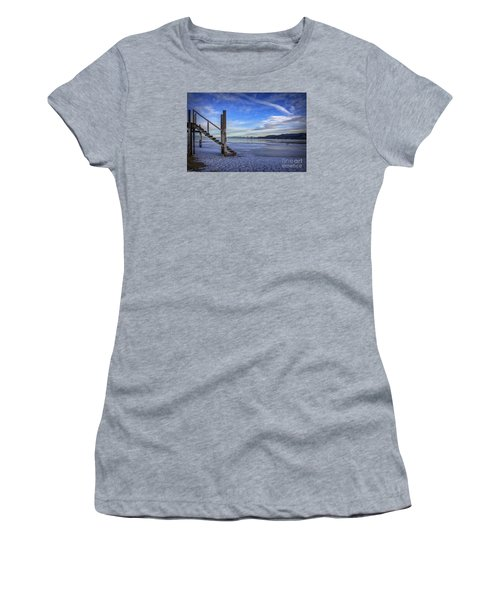 The Morning After Blues Women's T-Shirt (Junior Cut) by Mitch Shindelbower