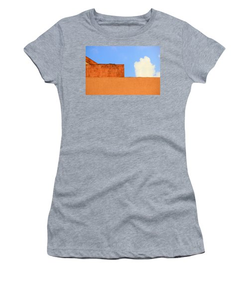 The Muted Cloud Women's T-Shirt (Athletic Fit)