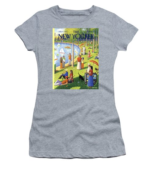 The New Yorker July 15th, 1991 Women's T-Shirt