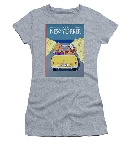 The New Yorker Cover - September 18th, 1989 Women's T-Shirt