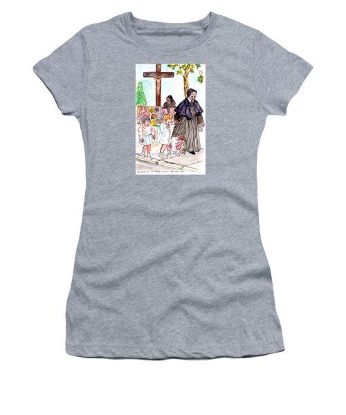 The Nuns Of St Mary's Church Women's T-Shirt (Junior Cut) by Philip Bracco