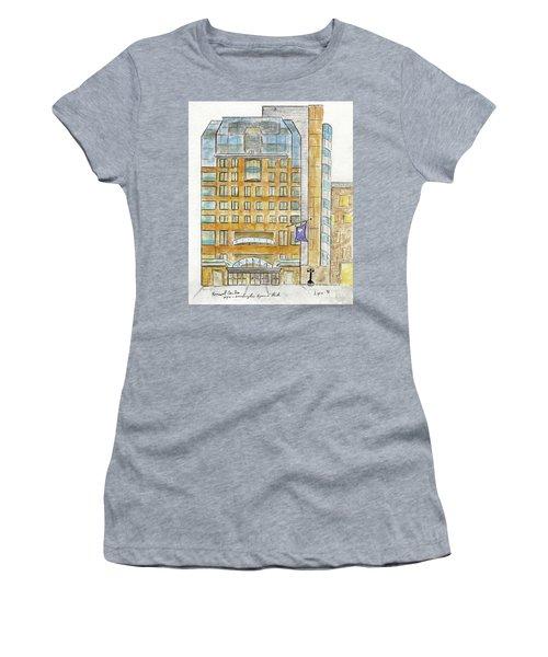 The Nyu Kimmel Student Center Women's T-Shirt (Junior Cut) by AFineLyne