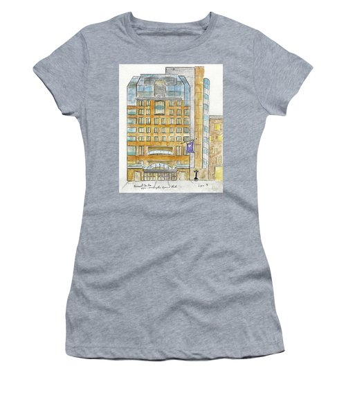 The Nyu Kimmel Student Center Women's T-Shirt (Athletic Fit)
