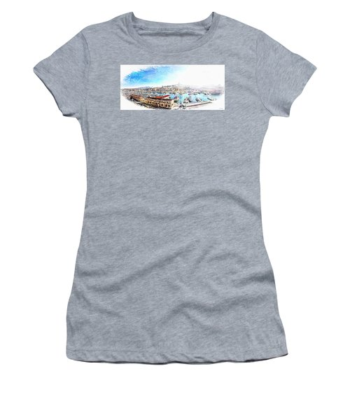 The Old Port Of Marseille  2 Women's T-Shirt (Athletic Fit)