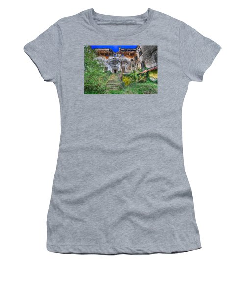 The Old Ruined Castle Women's T-Shirt (Athletic Fit)