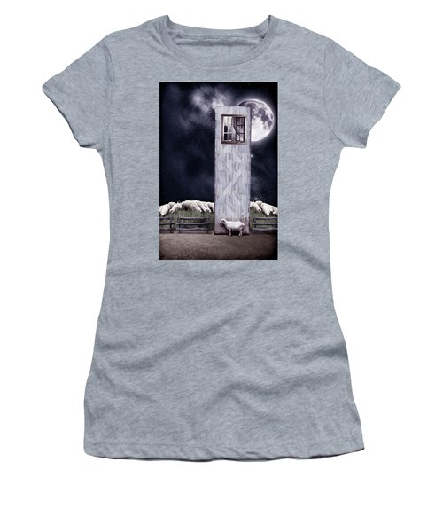 The Outsider Women's T-Shirt (Junior Cut) by Mihaela Pater