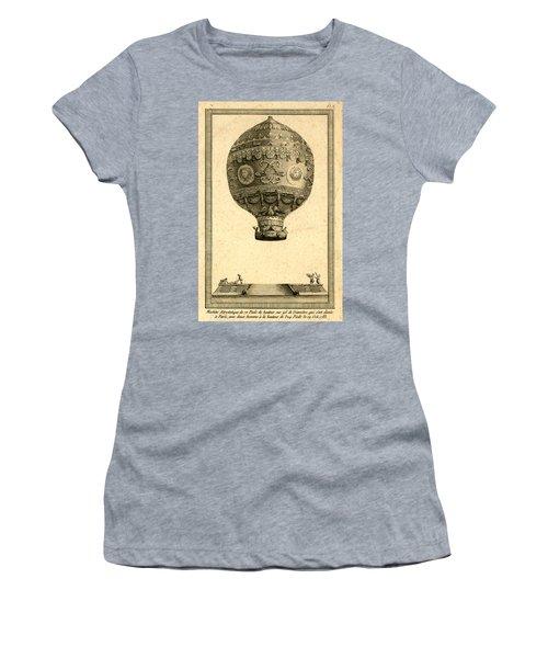 The Paris Ascent 2 Women's T-Shirt (Athletic Fit)