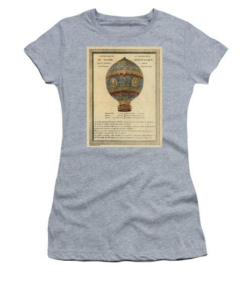 The Paris Ascent Women's T-Shirt (Athletic Fit)