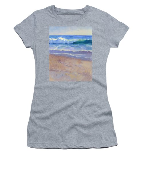 The Healing Pacific Women's T-Shirt (Athletic Fit)