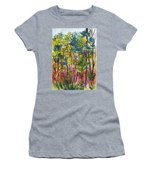 The Pines Women's T-Shirt (Athletic Fit)