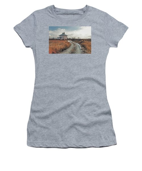 The Pink House Women's T-Shirt (Athletic Fit)
