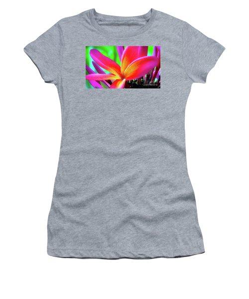 The Plumeria Flower Women's T-Shirt