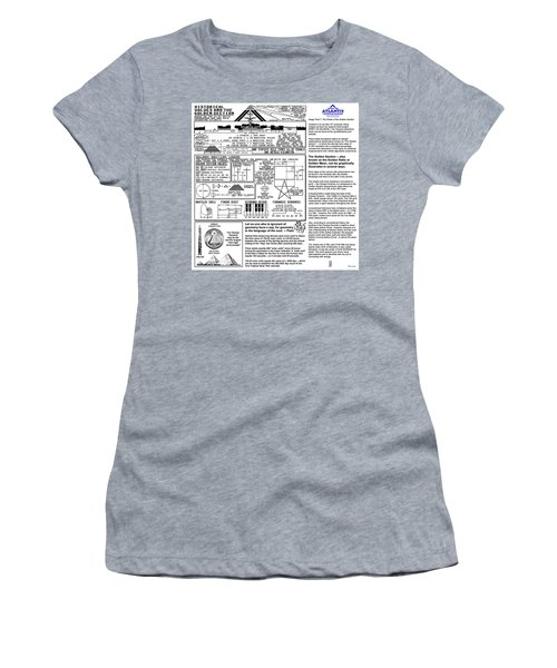 The Power Of The Golden Section Women's T-Shirt (Athletic Fit)