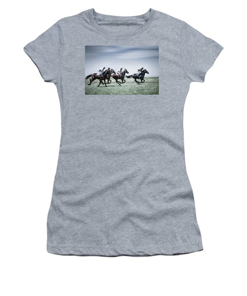 The Race Is On Women's T-Shirt