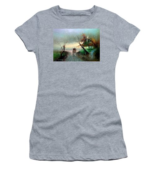 The Rays Of The Morning Sun Women's T-Shirt