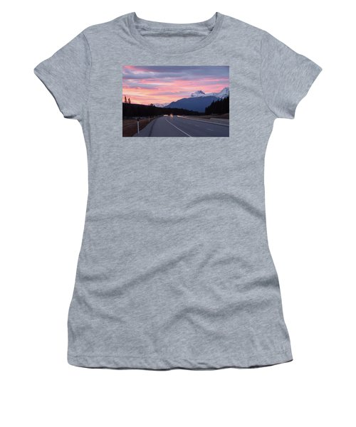The Road Trip Women's T-Shirt (Athletic Fit)