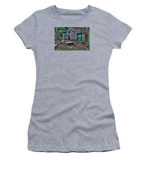 The Round Table House In The Abandoned Village Of The Ligurian Mountains High Way Women's T-Shirt