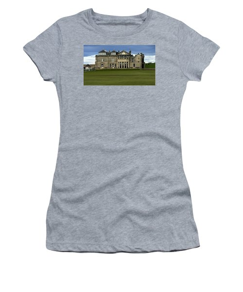 Women's T-Shirt (Junior Cut) featuring the photograph The Royal And Ancient St. Andrews Scotland by Sally Ross