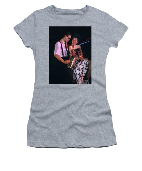 The Sax Man And The Girl Women's T-Shirt (Athletic Fit)