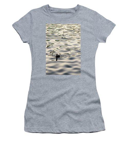 The Simple Life Women's T-Shirt (Junior Cut) by Alex Lapidus
