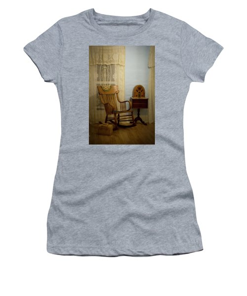 The Sitting Place Women's T-Shirt (Athletic Fit)