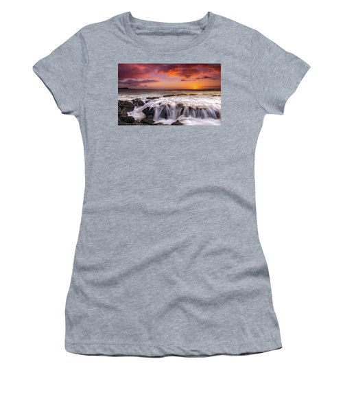 The Sound Of The Sea Women's T-Shirt (Junior Cut) by James Roemmling