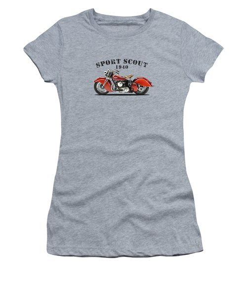 The Sport Scout Motorcycle Women's T-Shirt