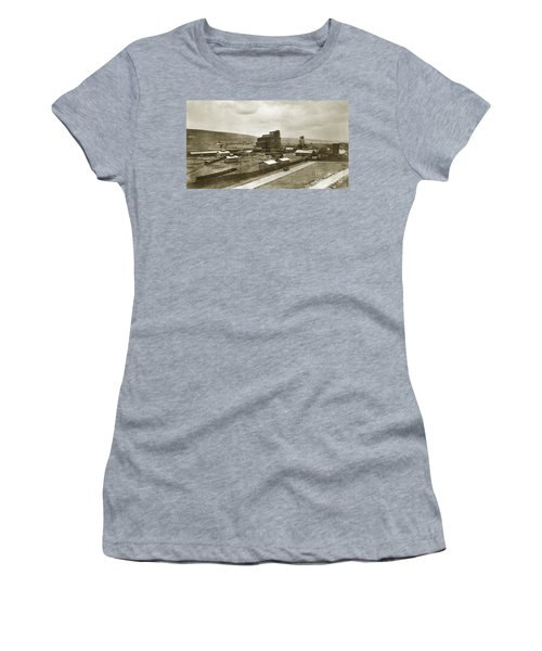 The Stanton Colliery Empire St. The Heights Wilkes Barre Pa Early 1900s Women's T-Shirt