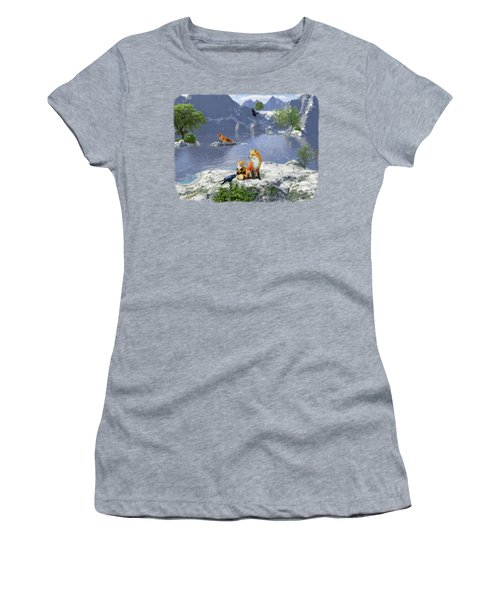 The Story Teller - Raven Tales Women's T-Shirt