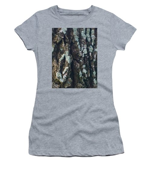 The Texture Is In The Trees1 Women's T-Shirt (Athletic Fit)
