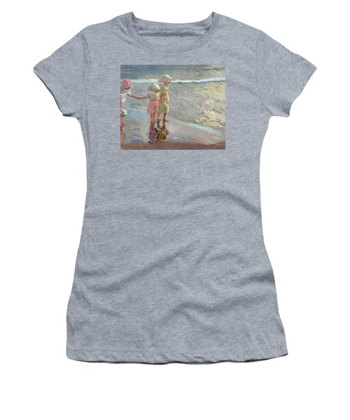 The Three Sisters On The Beach Women's T-Shirt