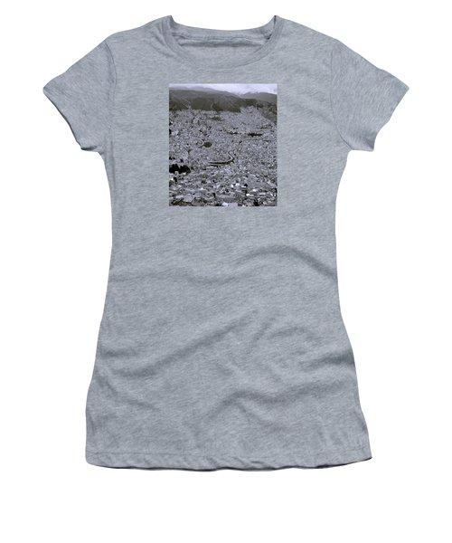 The Urban City Women's T-Shirt (Junior Cut) by Shaun Higson