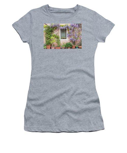 The Venice Italy Window  Women's T-Shirt