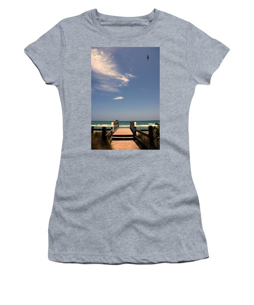 The Way Out To The Beach Women's T-Shirt