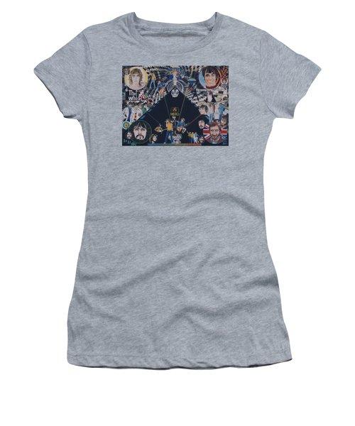 The Who - Quadrophenia Women's T-Shirt (Junior Cut) by Sean Connolly