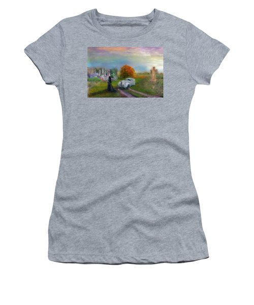 The Widow Women's T-Shirt (Athletic Fit)