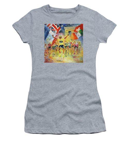 The Winner Of The Tour De France Women's T-Shirt